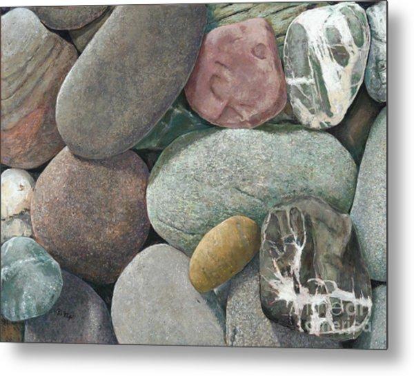 A Congregation Of Stones Metal Print