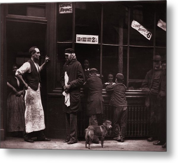 A Convicts Home Metal Print by John Thomson