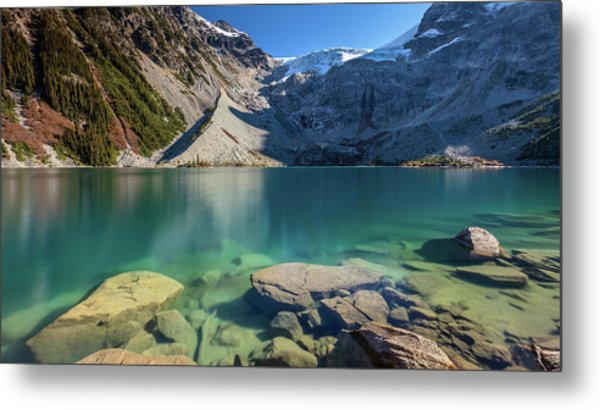 Metal Print featuring the photograph A Gem In The Mountains by Pierre Leclerc Photography