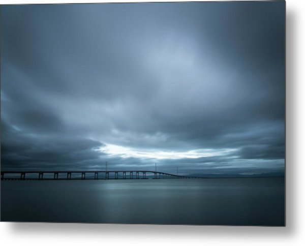 A Hole In The Sky Metal Print