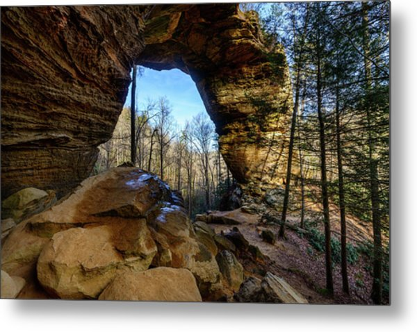 A Hole In Time Metal Print