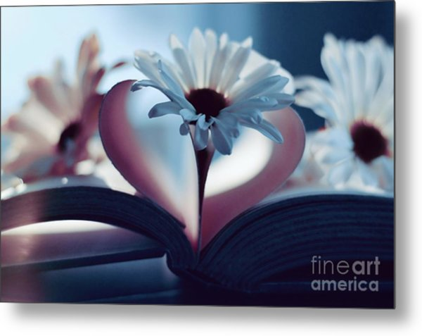 A Little Love And Light In Your Heart Metal Print
