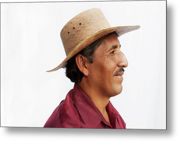A Mexican Man Metal Print