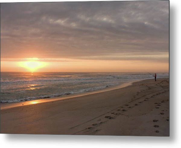 Metal Print featuring the photograph A New Day by John M Bailey