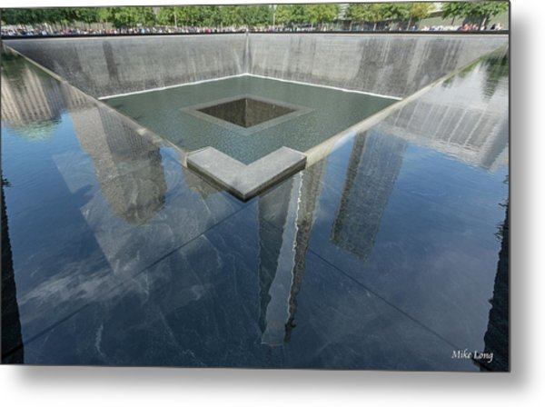 A Place For Reflection Metal Print