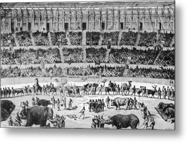 A Roman Circus Metal Print by Hulton Archive