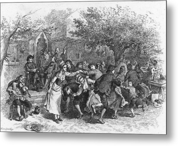 A Scene From Evangeline Metal Print by Kean Collection