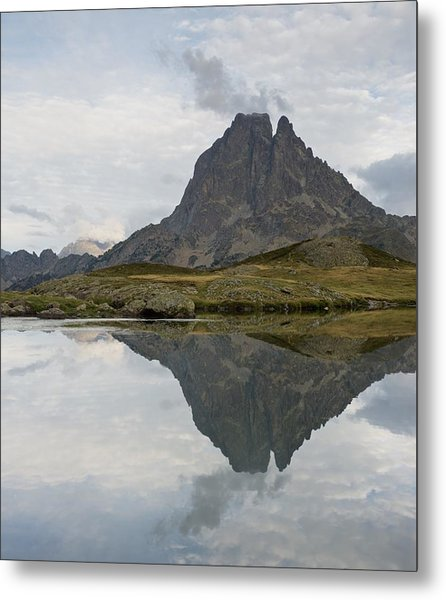 Metal Print featuring the photograph A Still Evening At Lac Du Miey by Stephen Taylor