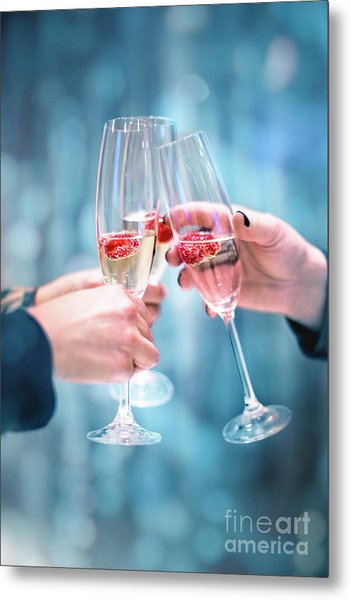 A Toast To Tomorrow Metal Print