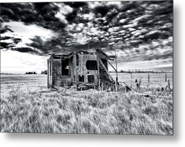 Abandoned Long Beach Island Shack 2007 Metal Print