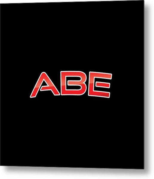 Abe Metal Print