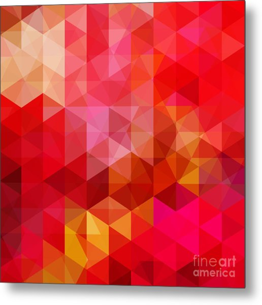Abstract Background Consisting Of Red Metal Print