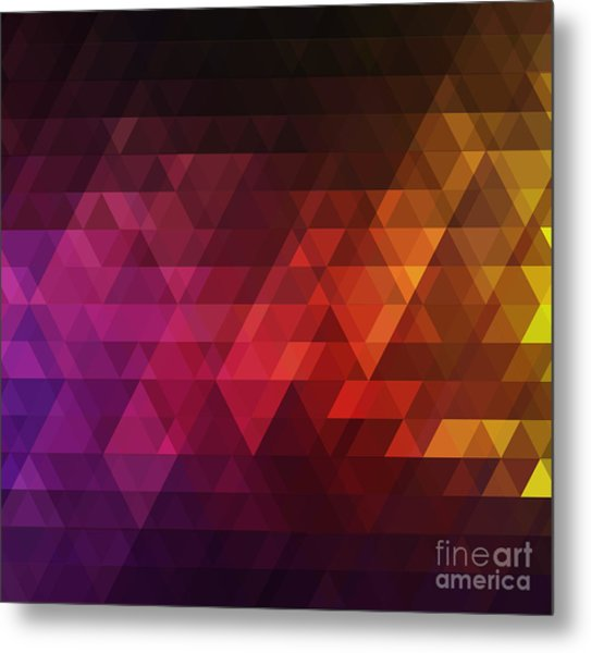 Abstract Background For Design Metal Print