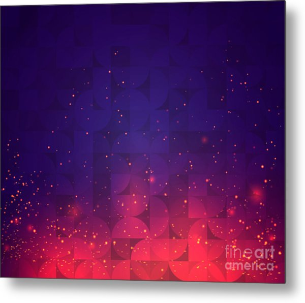 Abstract Background For Design. Vector Metal Print