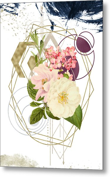 Metal Print featuring the digital art Abstract Dream by Bee-Bee Deigner