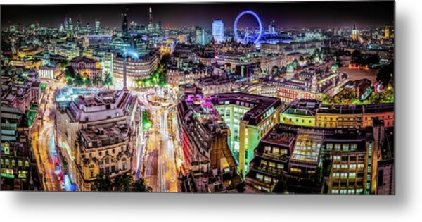 Metal Print featuring the photograph Abstract London by Stewart Marsden