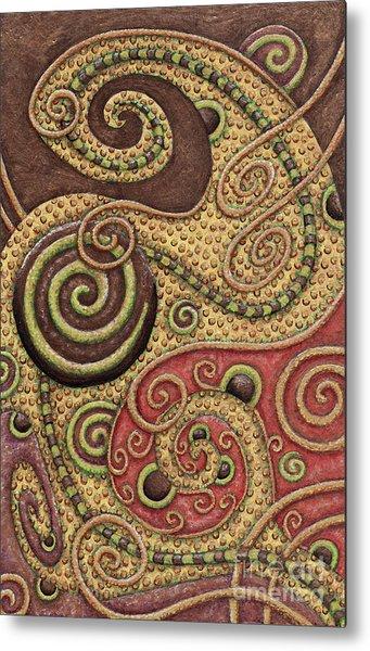 Abstract Spiral 3 Metal Print