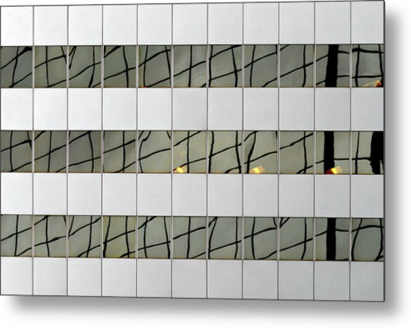 Abstritecture 13 Metal Print
