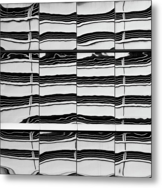 Abstritecture 40 Metal Print