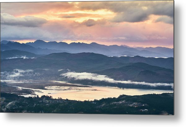 Metal Print featuring the photograph Across The Bay by Whitney Goodey