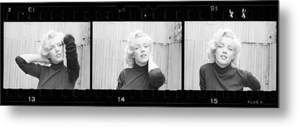 Actress Marilyn Monroe Metal Print