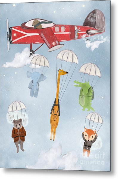 Adventure Skies Metal Print by Bri Buckley