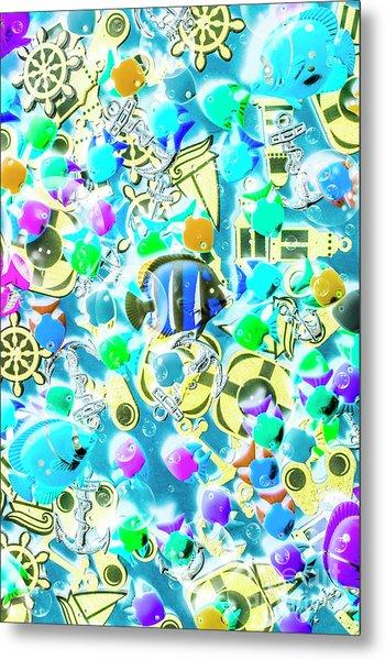 Adventures On Icon Reef Metal Print