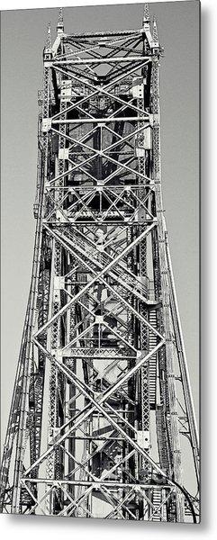 Aerial Lift Bridge-duluth, Mn Metal Print