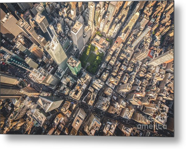 Aerial Photograph Taken From A Metal Print