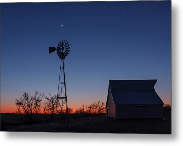 After Dark Metal Print
