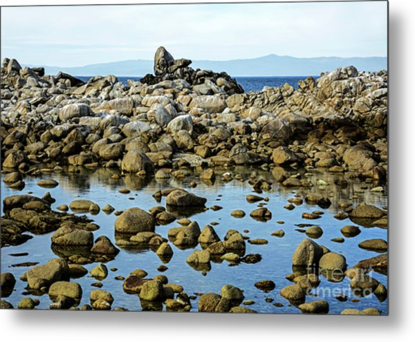 After The Waves Calmed Down Metal Print