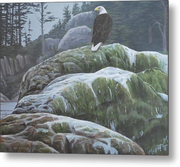 Alaskan Sentinel Metal Print