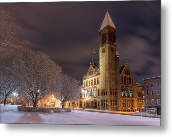 Albany City Hall Metal Print
