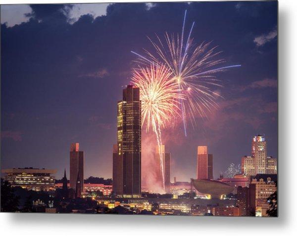 Albany Fireworks 2019 Metal Print