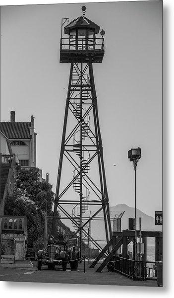 Alcatraz Light House Metal Print