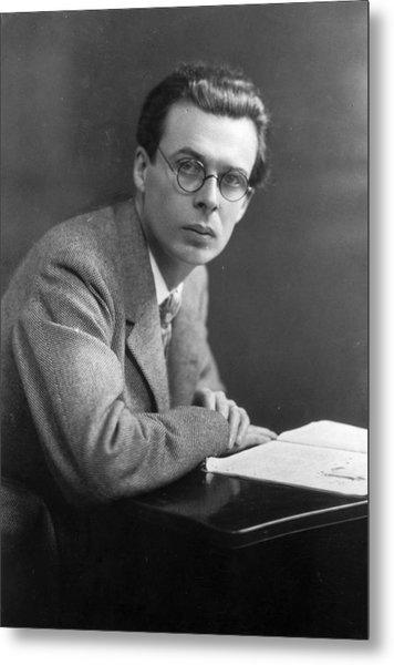 Aldous Huxley Metal Print by Edward Gooch Collection