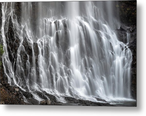 Metal Print featuring the photograph Alexander Falls Close Up by Pierre Leclerc Photography