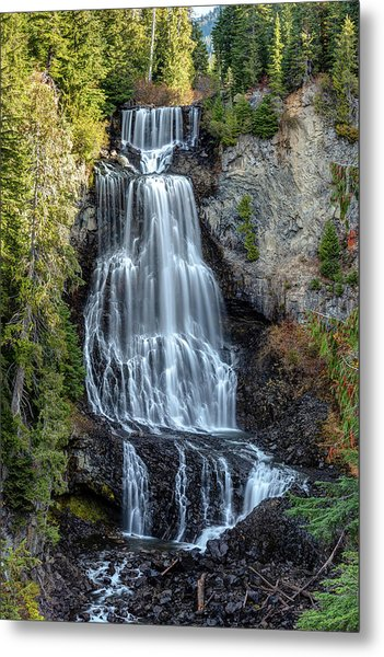 Metal Print featuring the photograph Alexander Falls Of The Callaghan Valley by Pierre Leclerc Photography