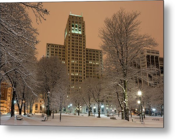 Alfred E. Smith Building Metal Print