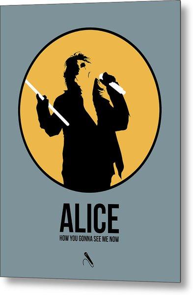 Alice Cooper II Metal Print