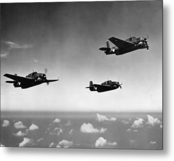 All Purpose Bomber Metal Print by Hulton Archive