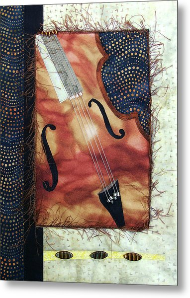 All That Jazz Bass Metal Print