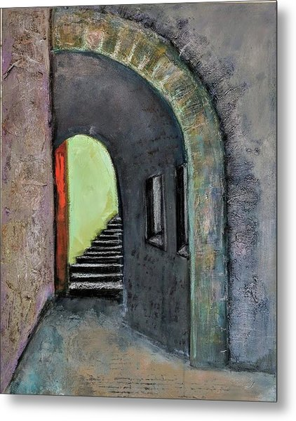 Alley Jaffa Metal Print