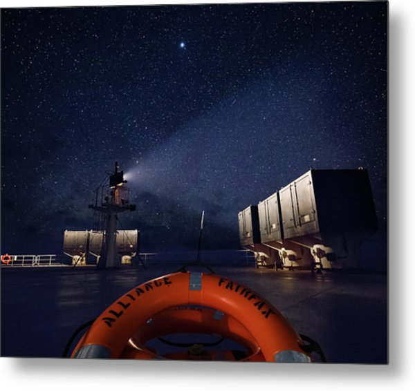 Metal Print featuring the photograph Alliance Fairfax Starry Night by William Dickman