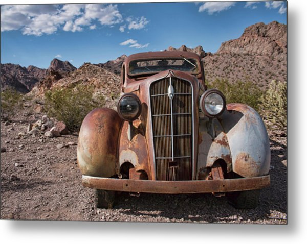 Alone In Nelson  Metal Print