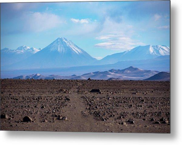 Along The Inca Trail In The Atacama Desert Metal Print