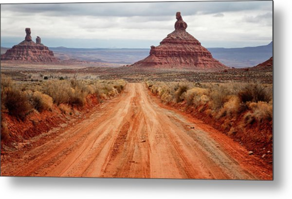 Metal Print featuring the photograph Along The Valley Floor by Nicholas Blackwell