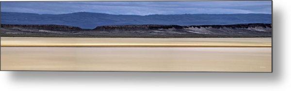 Alvord Panoramic 2 Metal Print by Leland D Howard
