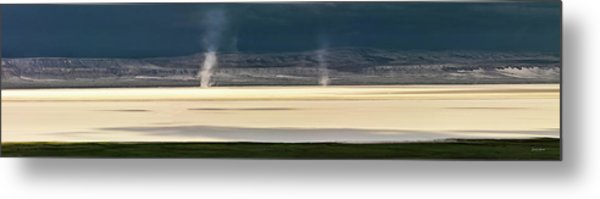 Alvord Panoramic 4 Metal Print by Leland D Howard