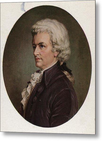 Amadeus Metal Print by Hulton Archive